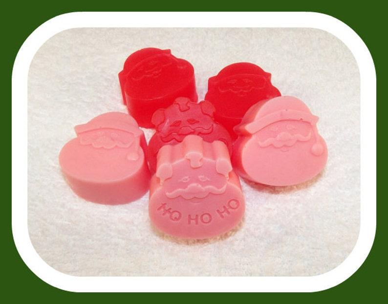 Mini Santa Soap Set Santa Soap Christmas Soap Santa Claus image 0