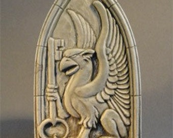 Griffin Relief (and key of good fortune) by Jay Hungate