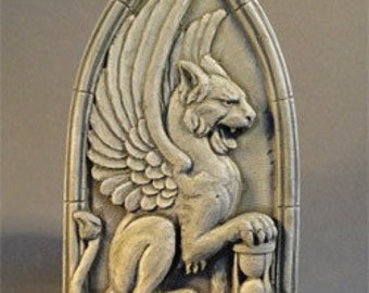 Winged Lion relief - by Jay Hungate