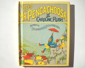 CLEARANCE 1970s Childrens Book Tales of Mr. Pengachoosa