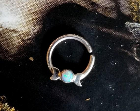 Opal Moon Phase Septum
