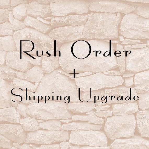 Rush Order and Shipping Upgrade For Canada and US