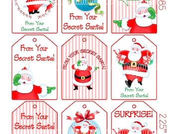Secret Santa Printable Suyhi Margarethaydon Com