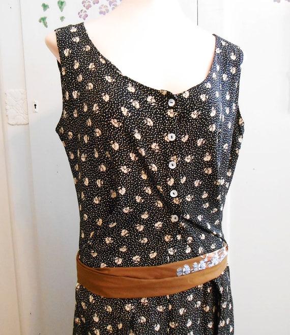 Vintage, 2 Piece, Palazzo Pants, Vest, 1980s, Ret… - image 5