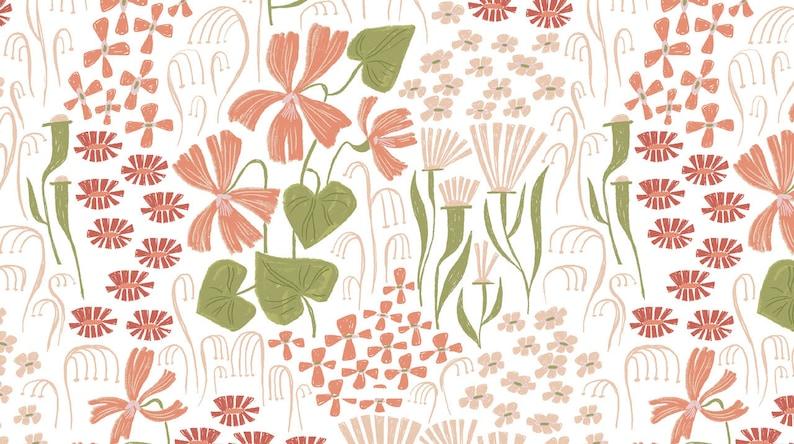 Rae Ritchie Strawberry fields Wild flowers dear stella fabric