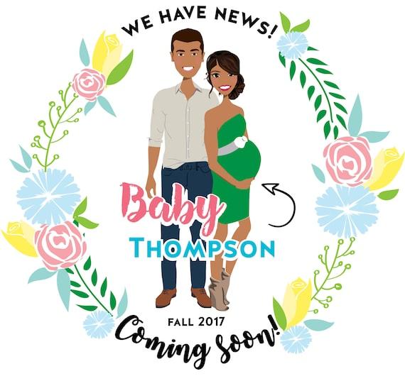 Hi Y/'All Baby Announcement