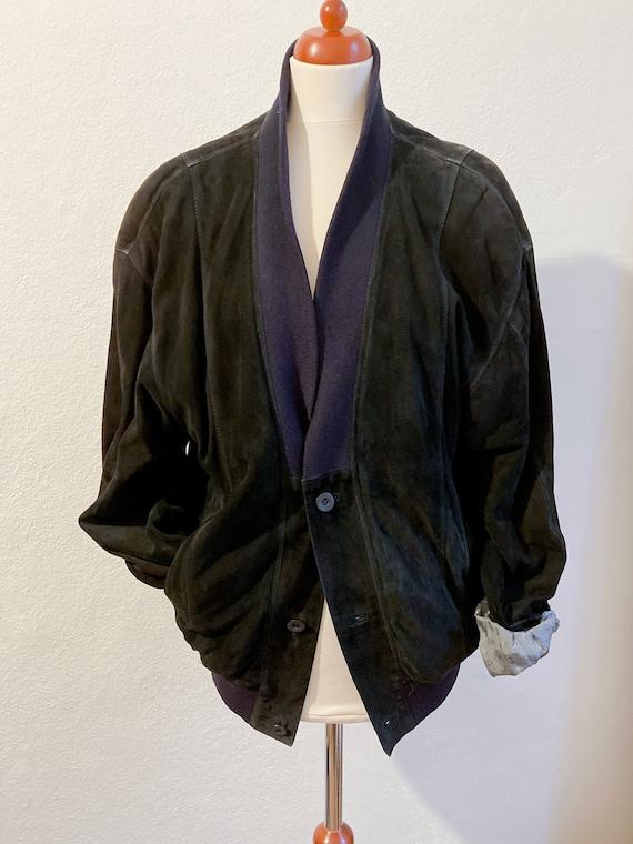 Vintage College King Suede Jacket