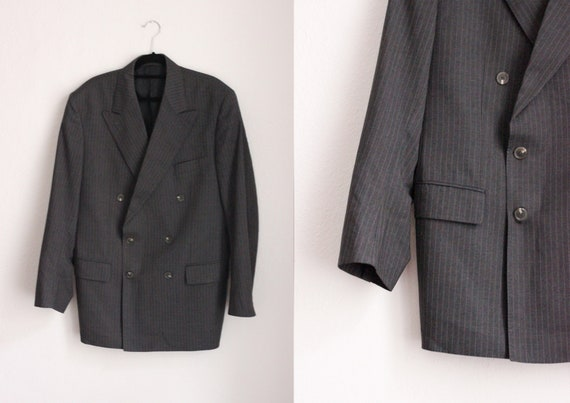Vintage Burberry Double Breasted Blazer