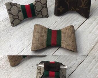 2dd11702f720 Men/Boy Bow Tie Repurpose Authentic Louis or Gucci