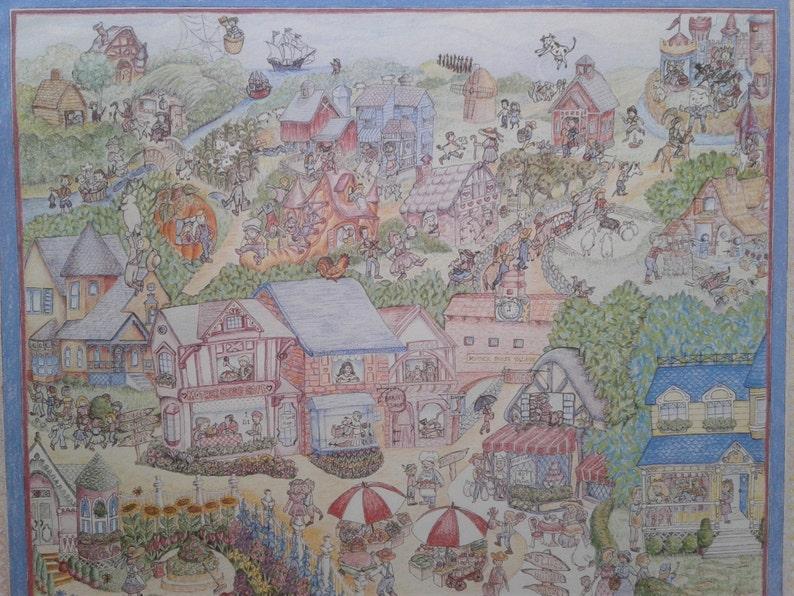 Sixty-eight Nursery Rhymes Limited Edition Art Print 24 image 0