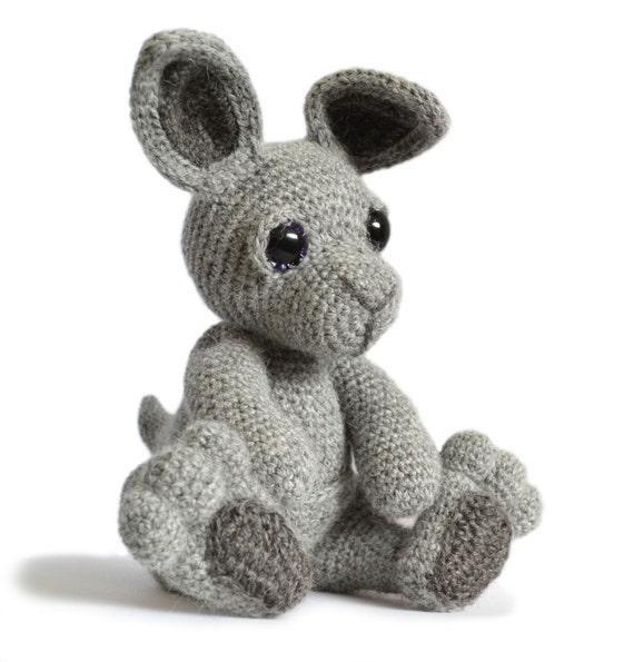 Känguru-Amigurumi Häkeln Muster PDF-sofort-Download Evie | Etsy