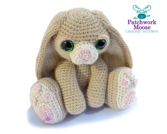Bunny Rabbit Amigurumi Haken Patroon Pdf Instant Download Etsy
