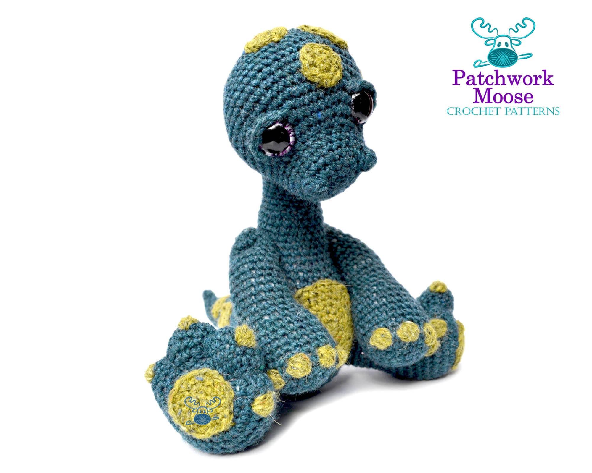 Dinosaur Diplodocus Amigurumi Crochet Pattern PDF Instant | Etsy