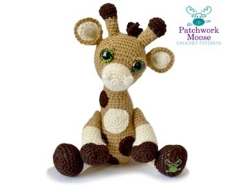 Giraffe Amigurumi Crochet Pattern PDF Instant Download - Clarence