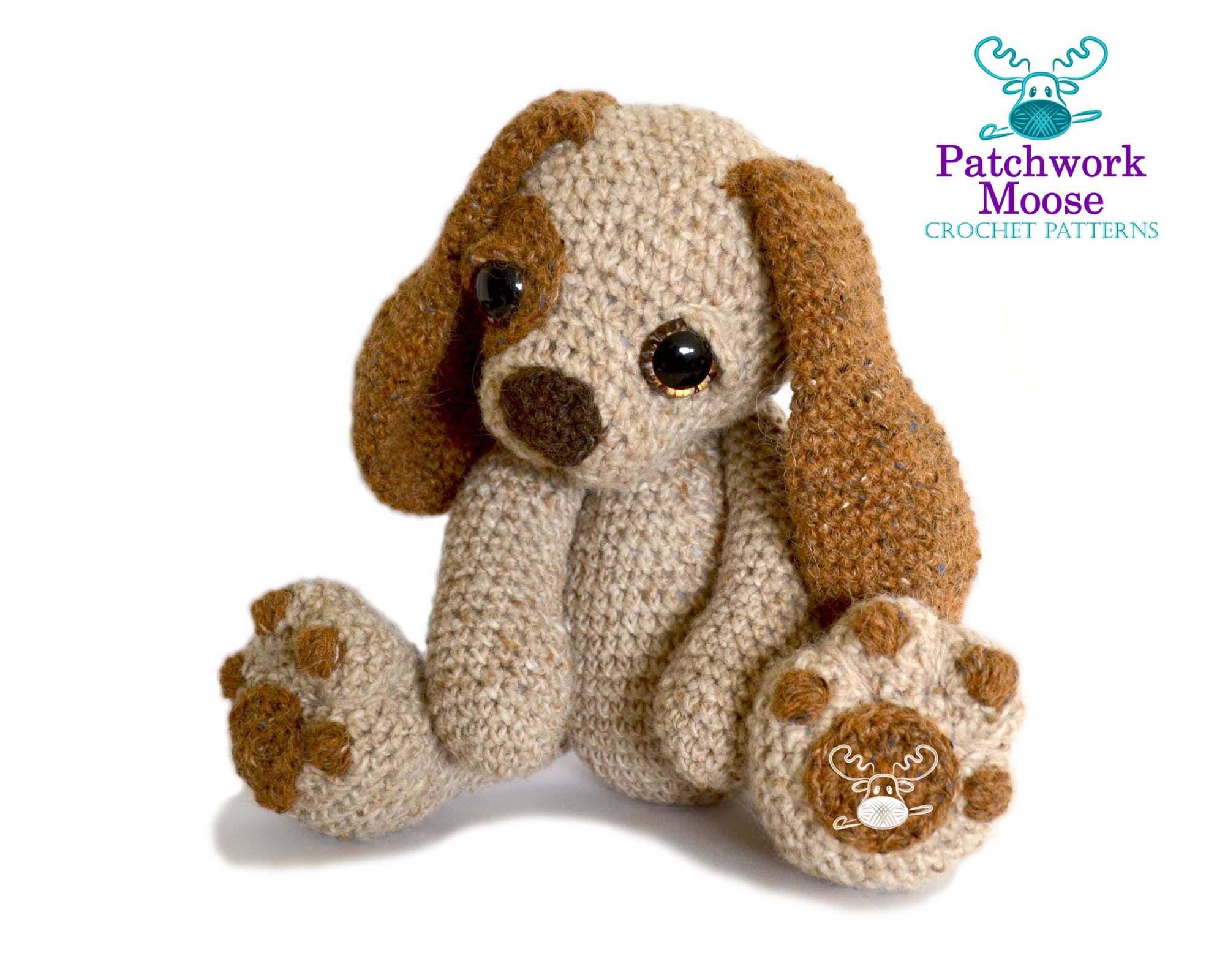 Cachorro perro Amigurumi Crochet patrón PDF descarga | Etsy