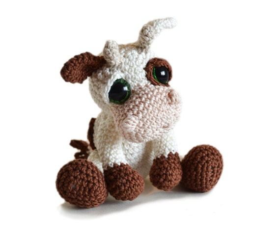Amigurumi Cow Crochet Pattern Pdf Instant Download Mable Etsy