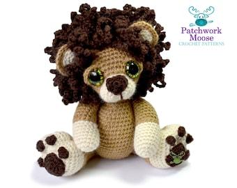 Lion Amigurumi Crochet Pattern PDF Instant Download - Sidney