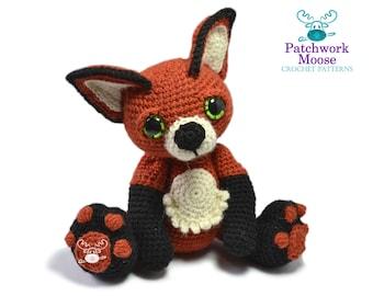 Fox Amigurumi Crochet Pattern PDF Instant Download - Hartley