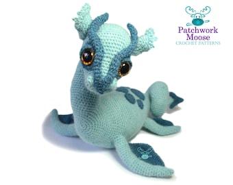 Loch Ness Monster Crochet Pattern PDF Instant Download - Nessie