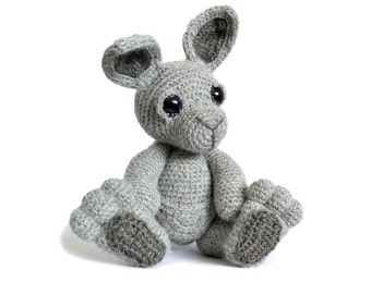 Kangaroo Amigurumi Crochet Pattern PDF Instant Download - Evie