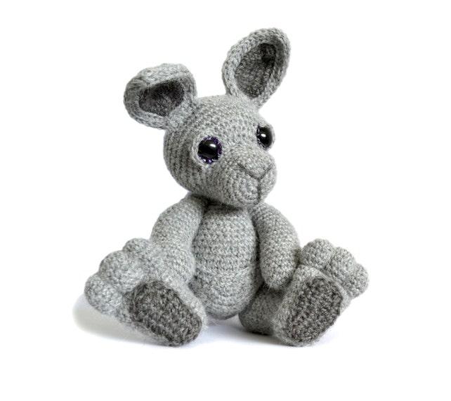 Canguro Amigurumi Crochet patrón PDF descarga instantánea | Etsy