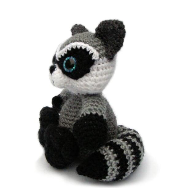 Raccoon Amigurumi Crochet Pattern Pdf Instant Download Etsy