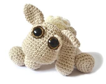 Sheep Amigurumi Crochet Pattern PDF Instant Download - Ethel