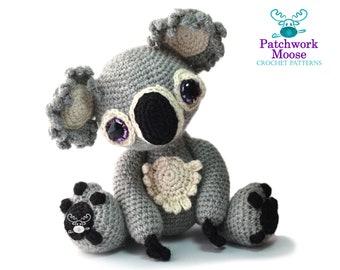 Koala Amigurumi Crochet Pattern PDF Instant Download - Hetty