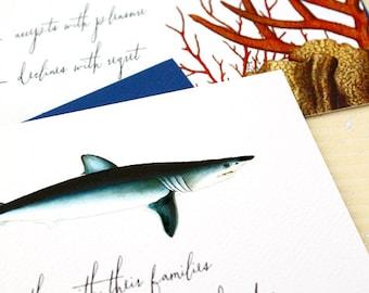 Shark Wedding Invitations for your Aquarium Wedding
