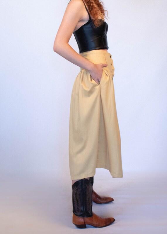 80s Full Western Skirt size S - image 8