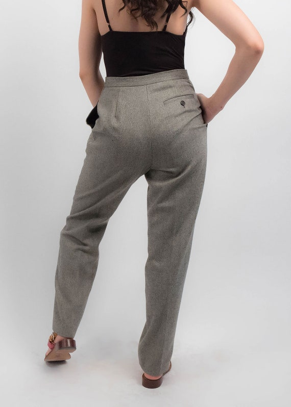 RALPH LAUREN Wool Trousers. Vintage High-Waisted … - image 7