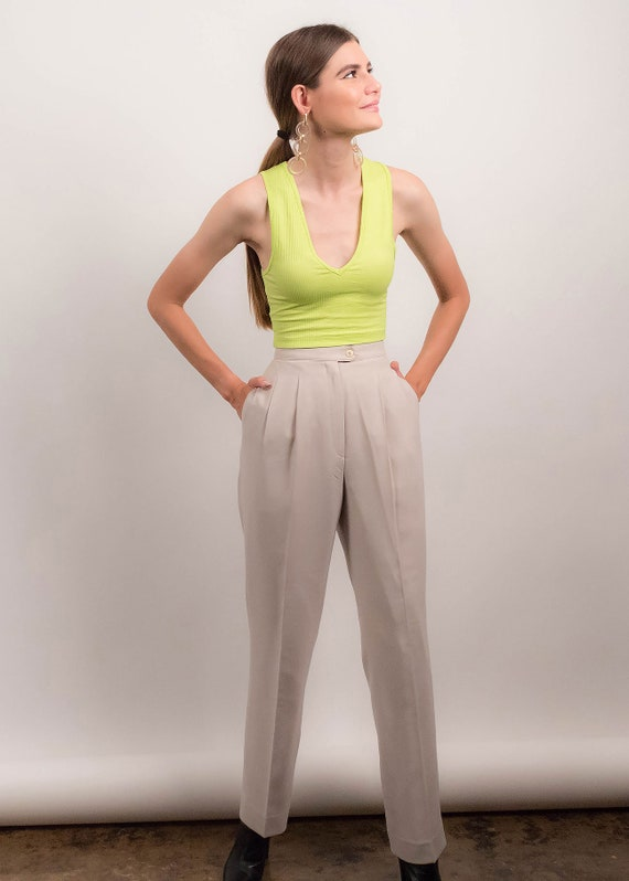 90s MINIMAL Pant Suit. Double-Breasted Pant Suit.… - image 7