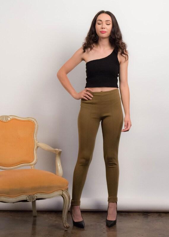 50s Knit STIRRUP Pants. Vintage 50s Pants. Vintag… - image 7