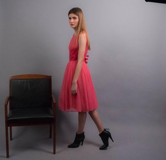 50s TULLE Dress. Vintage 50s Dress. 50s Prom Dres… - image 9