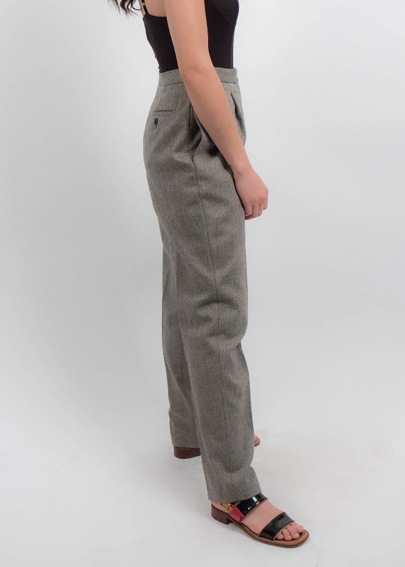 RALPH LAUREN Wool Trousers. Vintage High-Waisted … - image 8