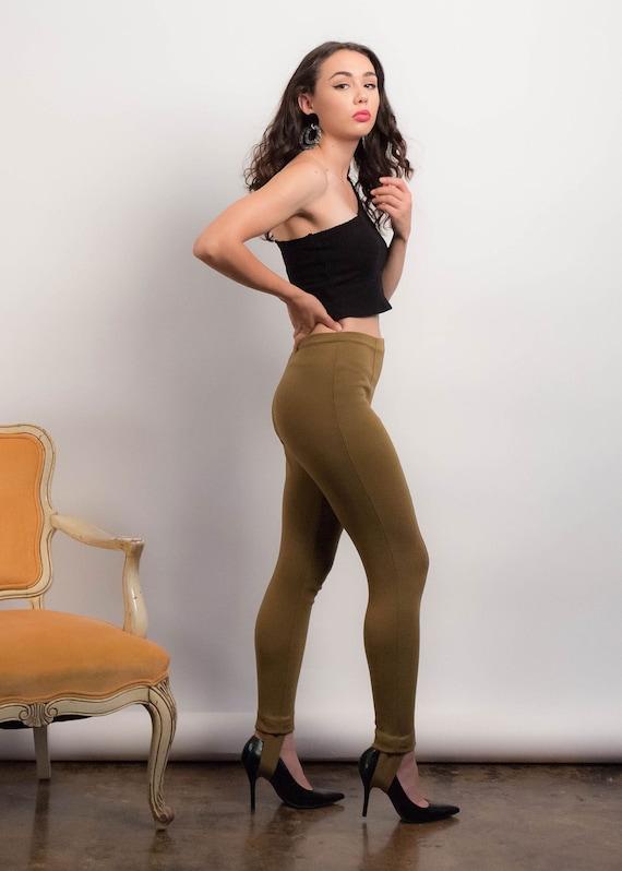 50s Knit STIRRUP Pants. Vintage 50s Pants. Vintag… - image 5