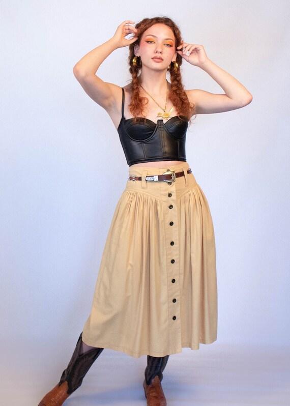 80s Full Western Skirt size S - image 1