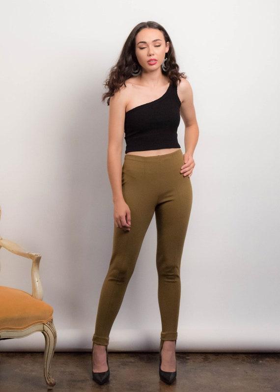 50s Knit STIRRUP Pants. Vintage 50s Pants. Vintag… - image 6