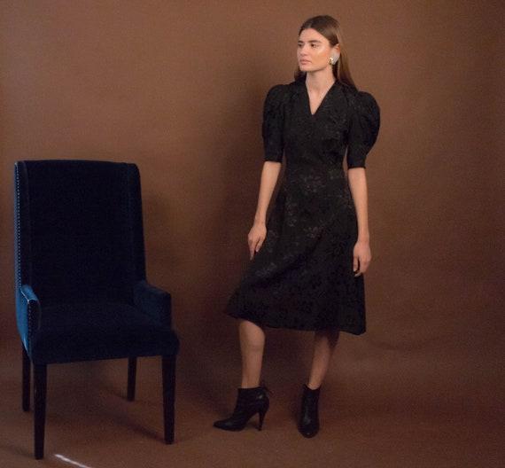 40s Floral Dress. Vintage 40s Dress. 40s Floral R… - image 7