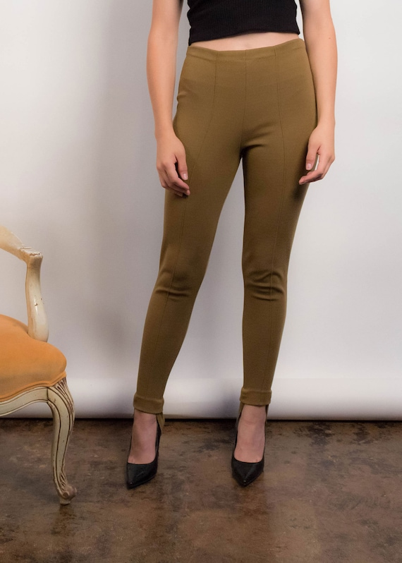 50s Knit STIRRUP Pants. Vintage 50s Pants. Vintag… - image 3