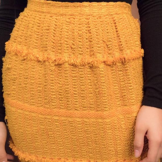 Bohemian Maxi Skirt. Boho 60s Maxi Skirt. Woven F… - image 2