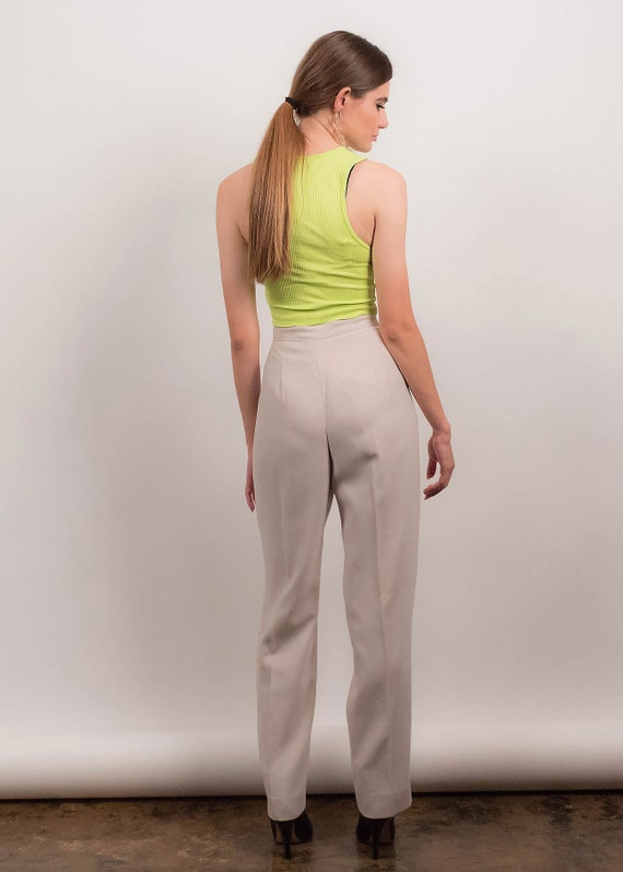 90s MINIMAL Pant Suit. Double-Breasted Pant Suit.… - image 8