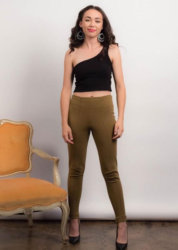 50s Knit STIRRUP Pants. Vintage 50s Pants. Vintag… - image 4