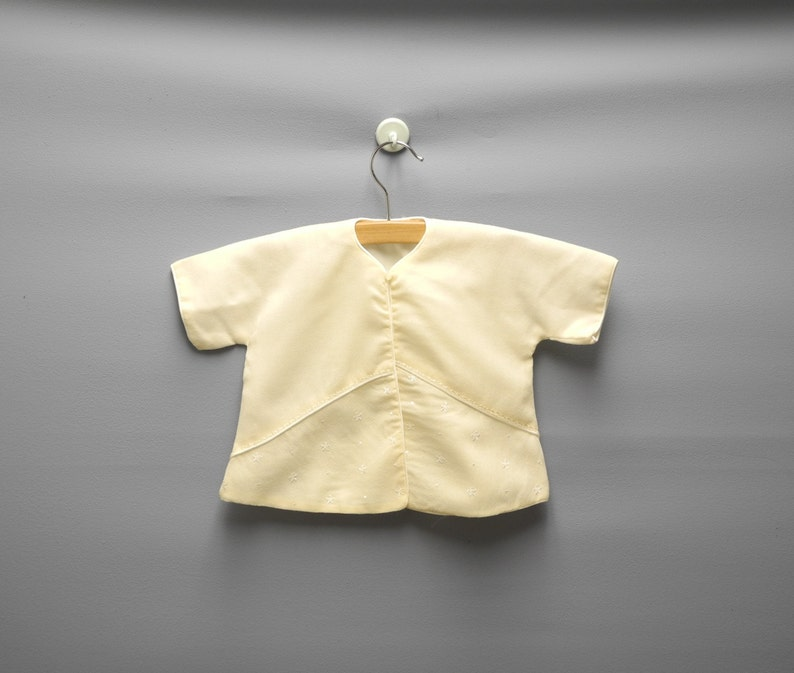 f386f6593a7f Vintage Baby Clothes 1950s Saks Fifth Avenue Cream Wool Baby