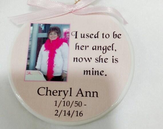 Personalized Christmas Memorial Ornament Memorial Gift Custom Ornament