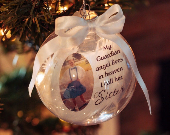Christmas in Heaven Ornament Memorial Ornament In Loving Memory