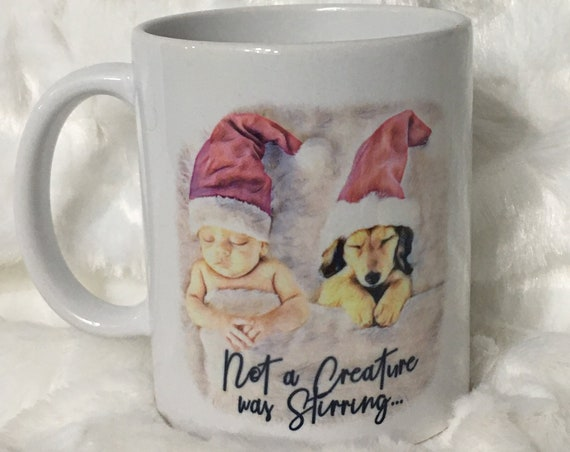 Christmas Gift for Mom from Daughter, Christmas Coffee Mug, Christmas Eve