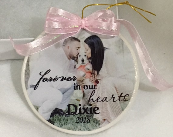 Pet Memorial Gift Dog, Memorial, Ornament, Christmas, Gift for Wife