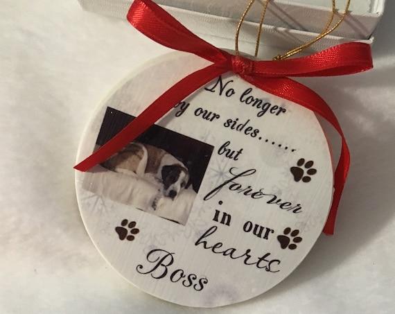 Pet Memorial Gift, Pet Memorial Ornament, Christmas, Daughter Gift
