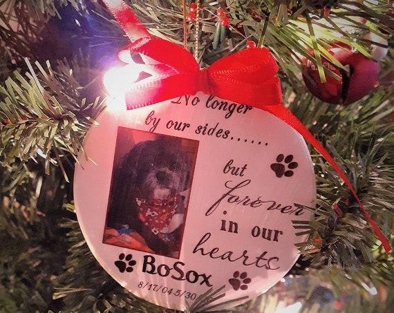 Personalized Pet Memorial Ornament, Christmas, Pet Parent Gift
